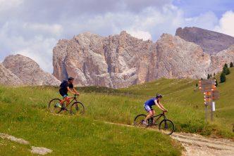 randonné vélo en famille